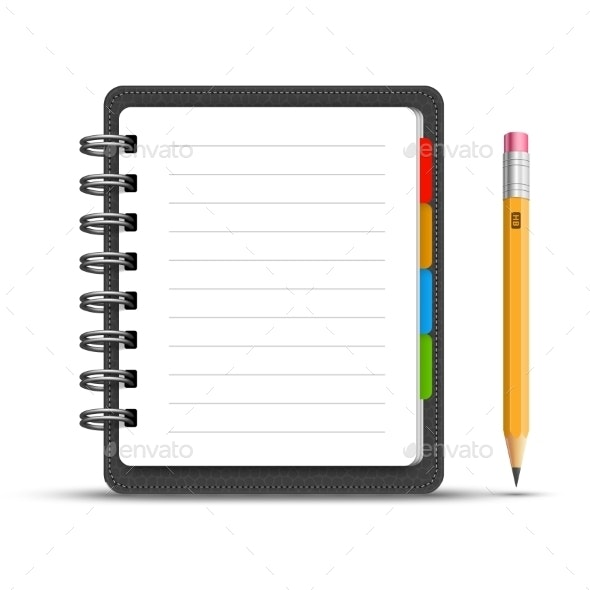 Leather Notebook - Computers Technology