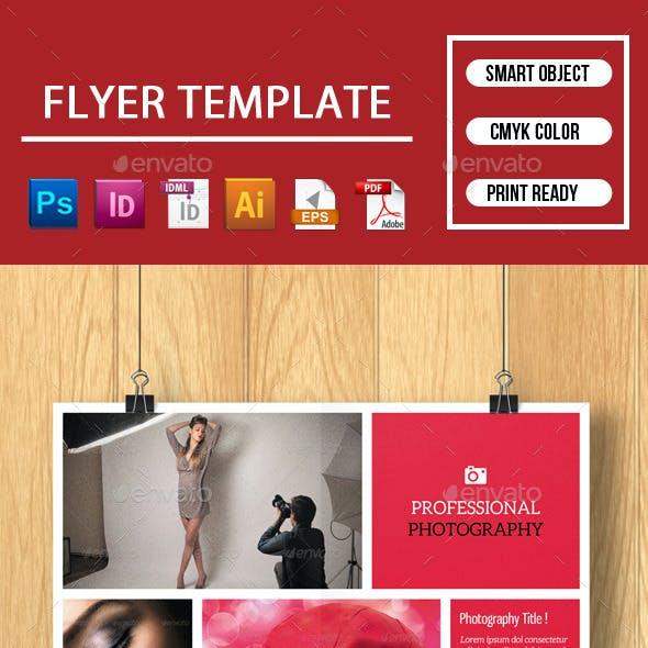 Flyer for Photographer