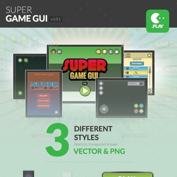 Super Game User Interface