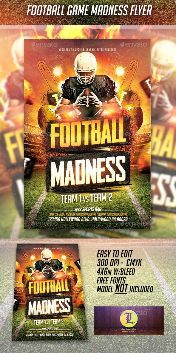 Football Game Madness - Sports Events