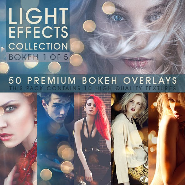 Bokeh Overlays Vol.1