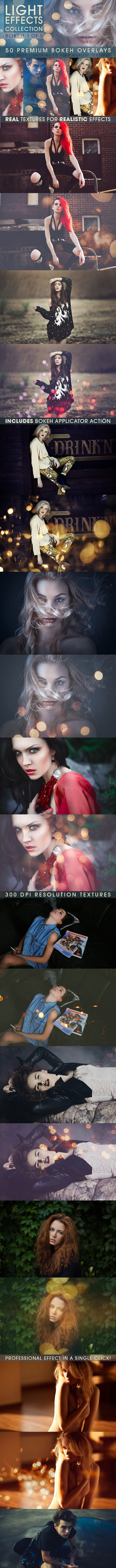 Bokeh Overlays Vol.1 - Photo Effects Actions