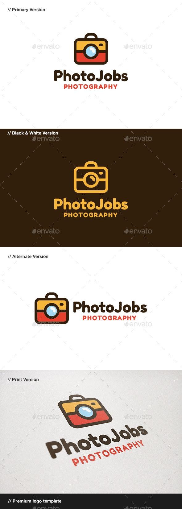 Photo Jobs - Objects Logo Templates