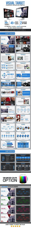 Visual Target - PowerPoint Templates Presentation Templates
