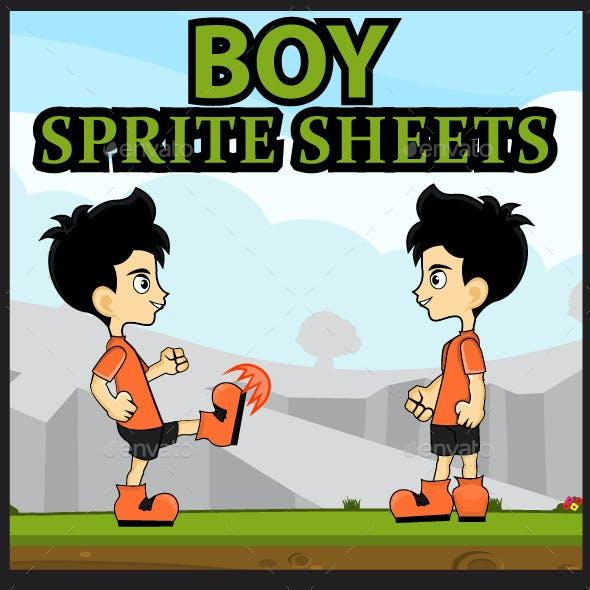 Boy Sprite Sheet