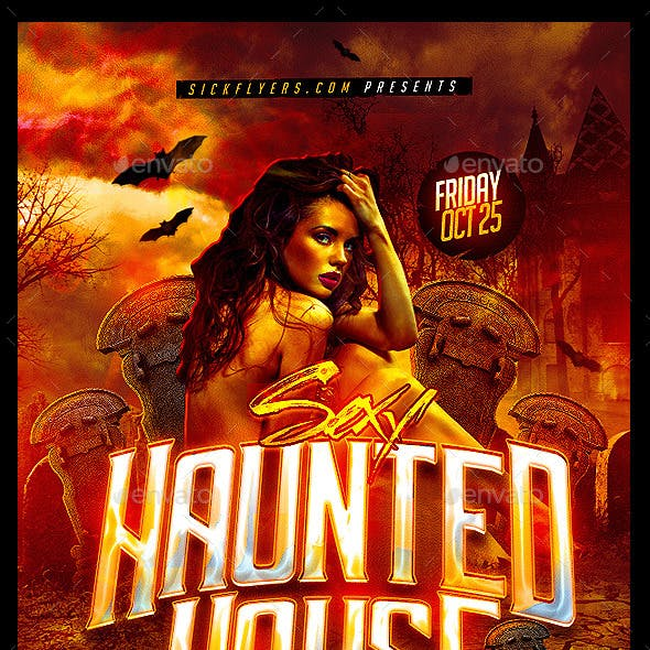 Haunted House Flyer