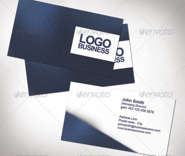 Fabric Name Card - Real Objects Business Cards