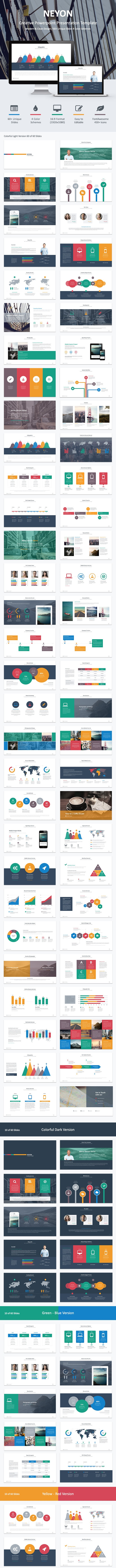 Neyon - Powerpoint Template - PowerPoint Templates Presentation Templates