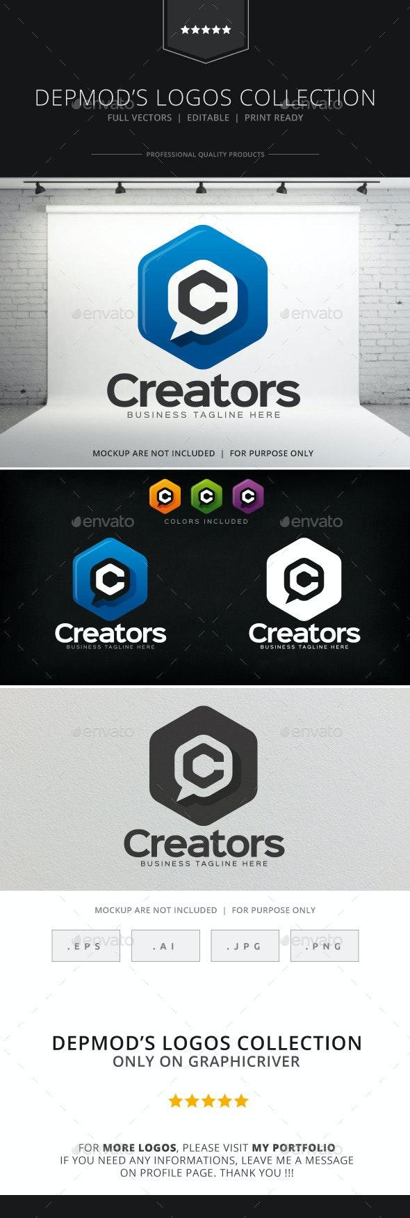 Creators Logo - Letters Logo Templates