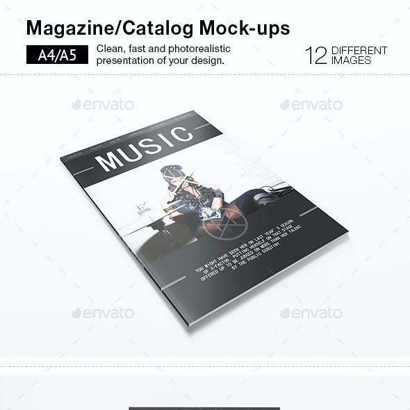 12 Magazine Mock-Ups
