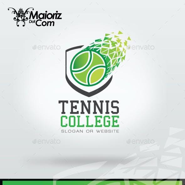 Tennis College Logo