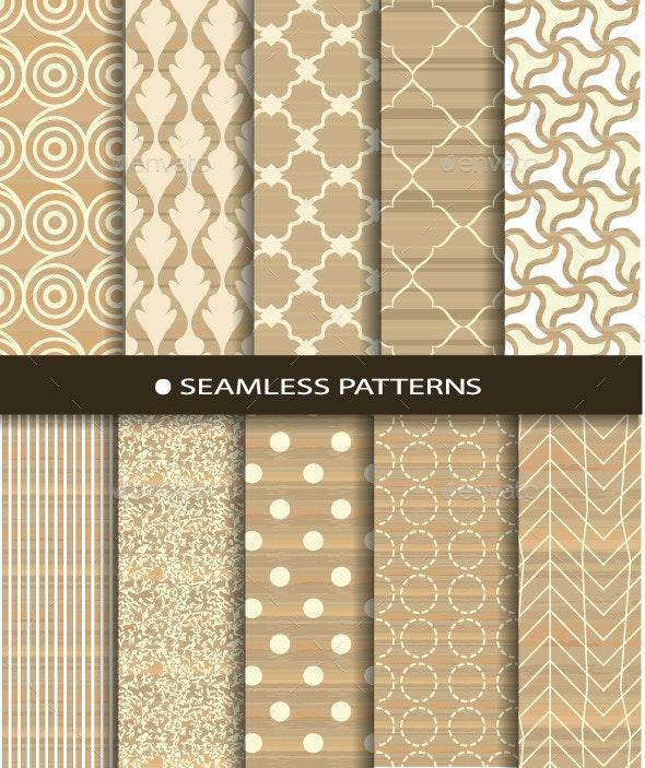 Texture Seamless Patterns Set - Patterns Decorative