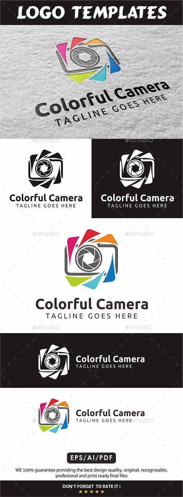 Colorful Camera V3 - Vector Abstract