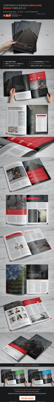 Corporate Multipurpose Brochure Template v4 - Corporate Brochures
