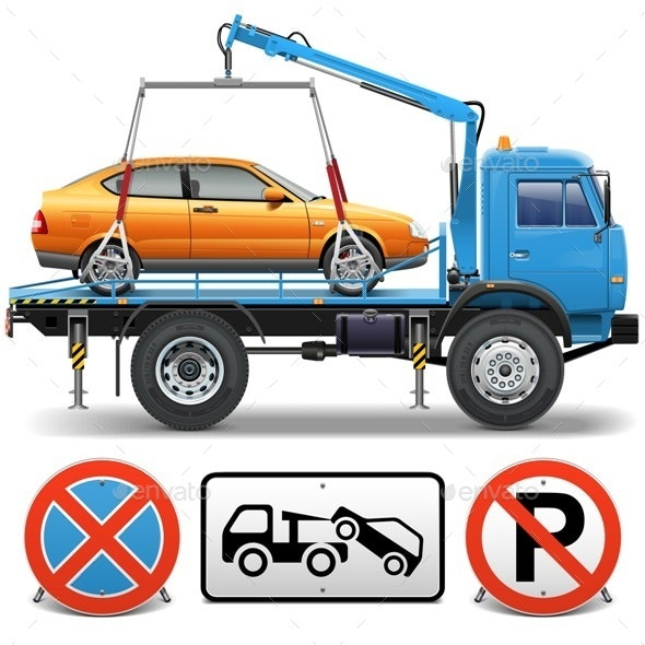 Tow Truck - Industries Business