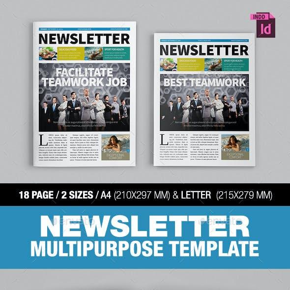 Newsletter Multipurpose Template