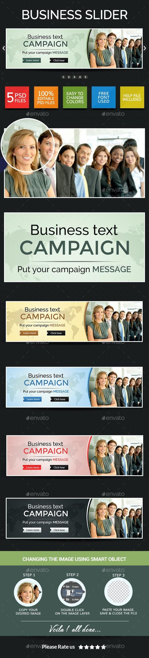 Retail & Business Multipurpose Slider - Sliders & Features Web Elements