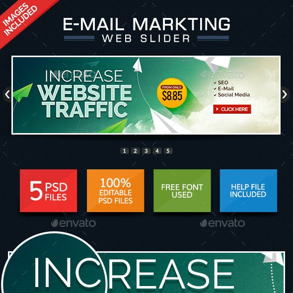 Marketing Web Slider