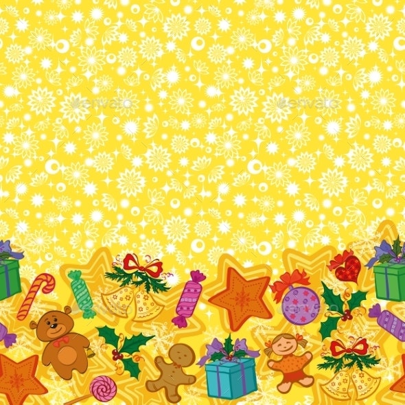 Christmas Holiday Seamless Pattern - Christmas Seasons/Holidays