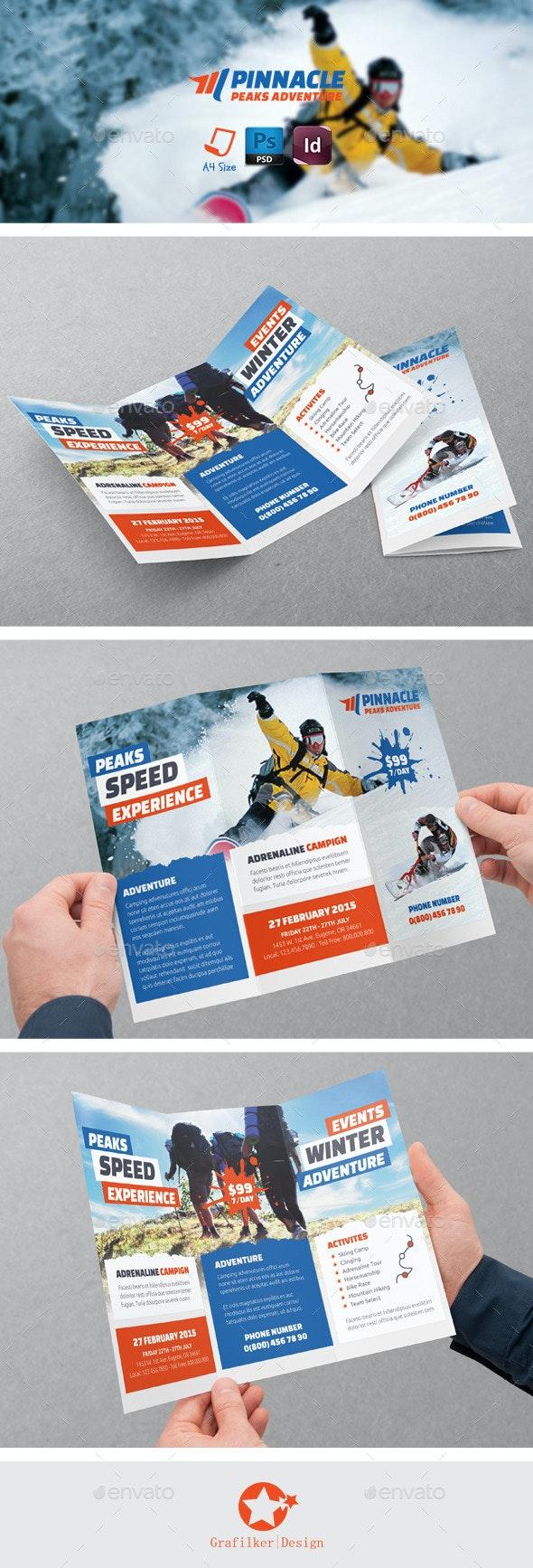 Adventure Tri-Fold Templates - Brochures Print Templates