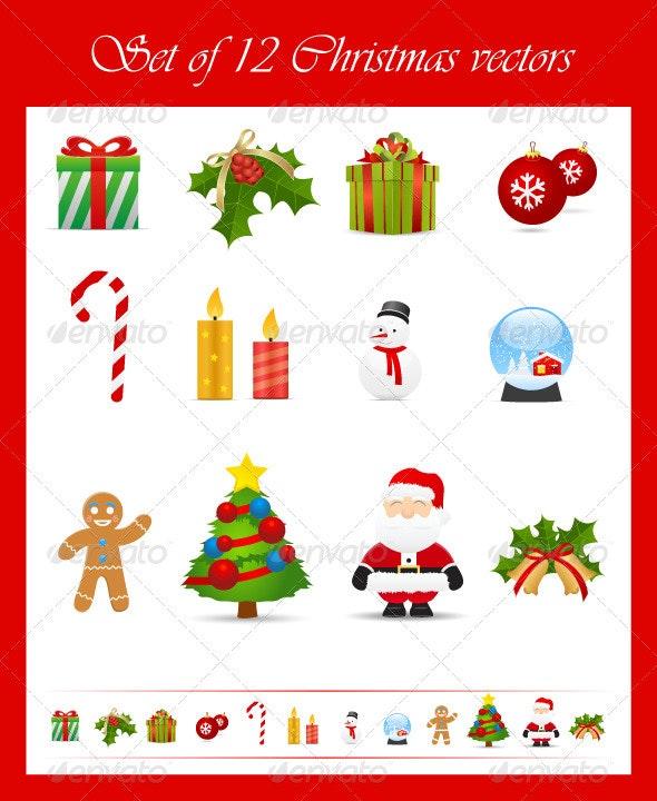 Christmas Vector - Christmas Seasons/Holidays