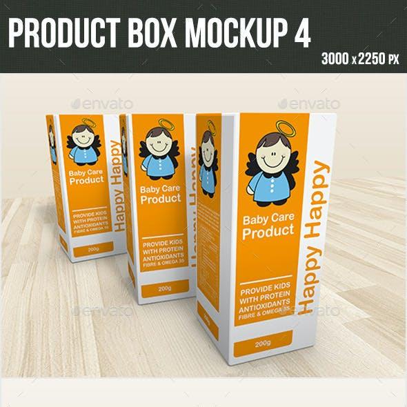 Product Box Mockup 4