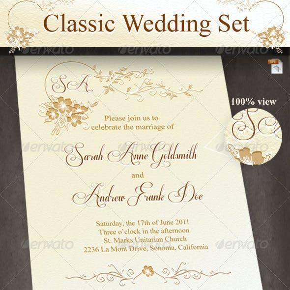 Classic Wedding Set