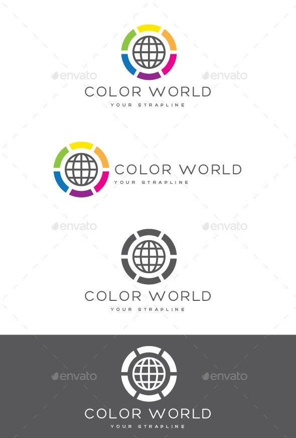 Color World Logo - Symbols Logo Templates
