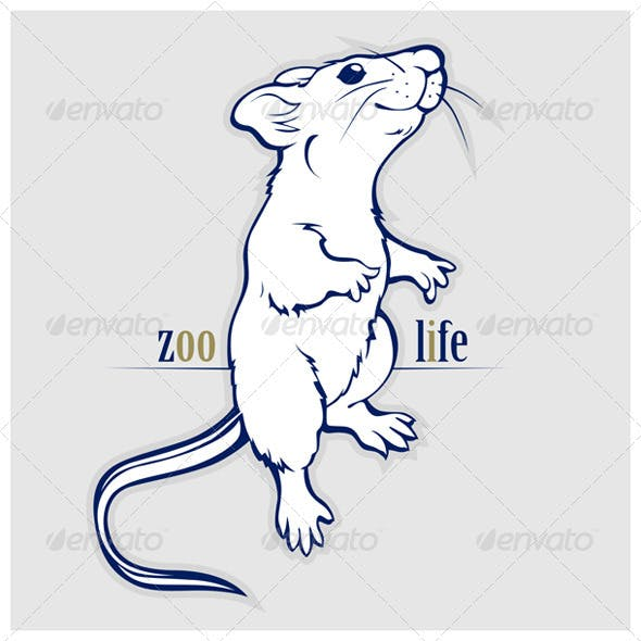 Cartoon Rat or Mouse