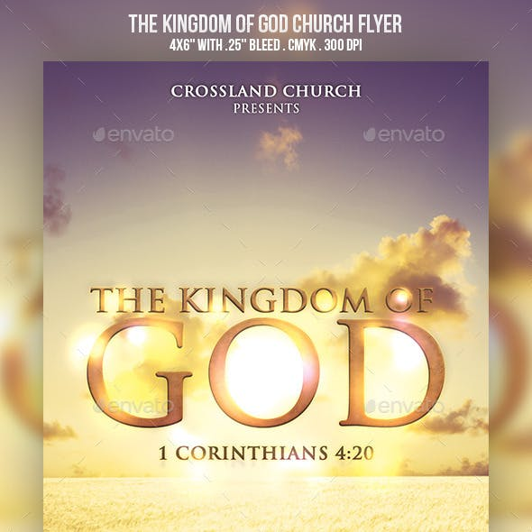 The Kingdom of God Church Flyer