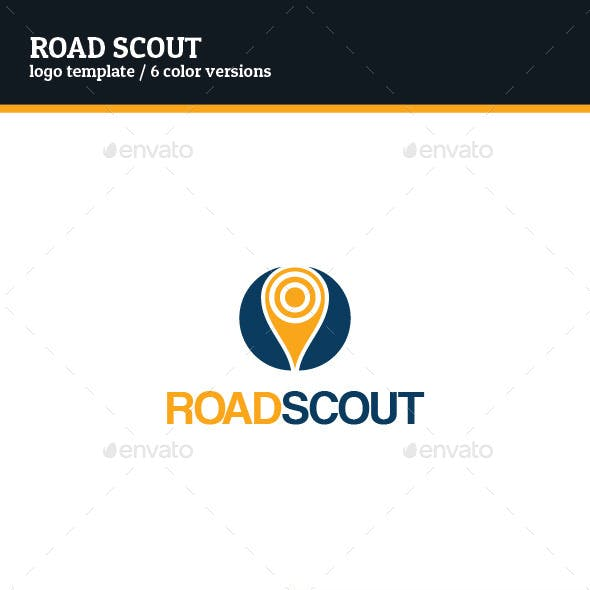 Road Scout Logo Template