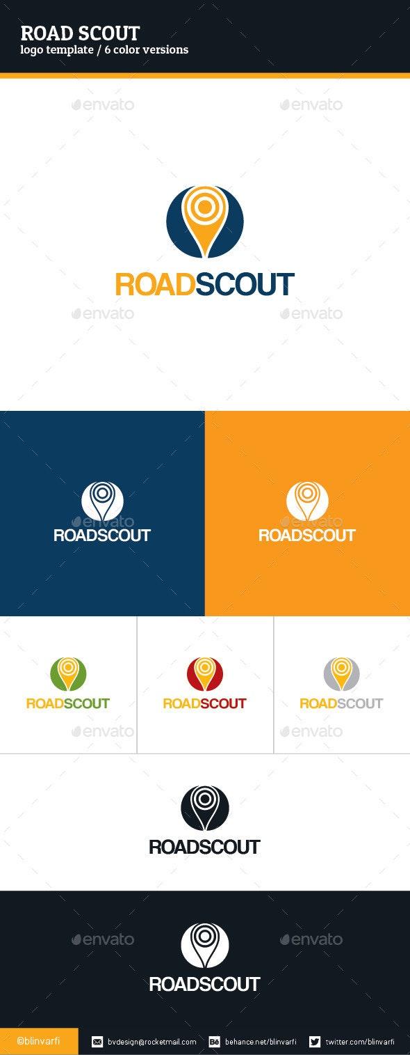 Road Scout Logo Template - Symbols Logo Templates