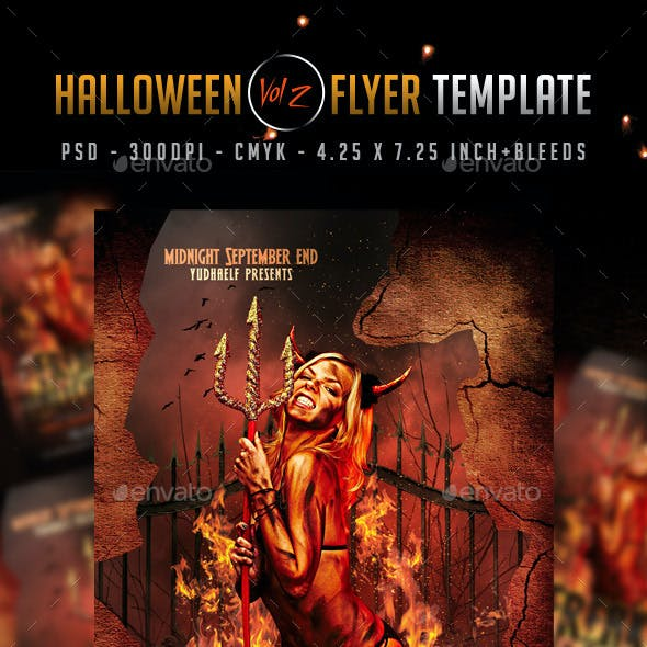 Halloween Flyer Vol. 2