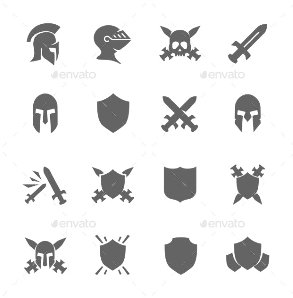 War Icons - Man-made objects Objects