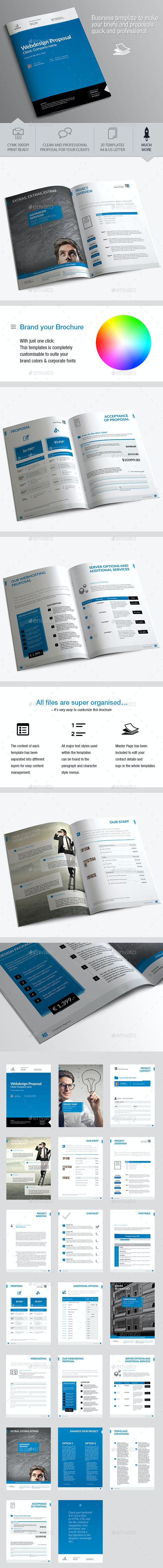 Webdesign Proposal - Proposals & Invoices Stationery