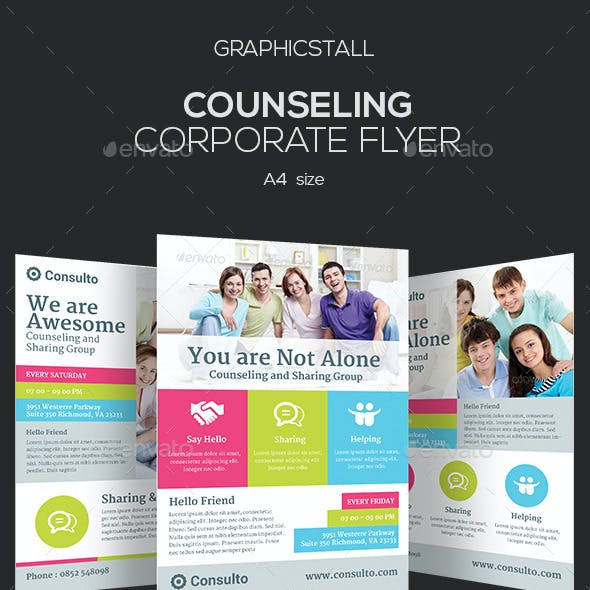 Counseling Corporate Flyer