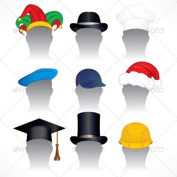 Hats - Vector Set