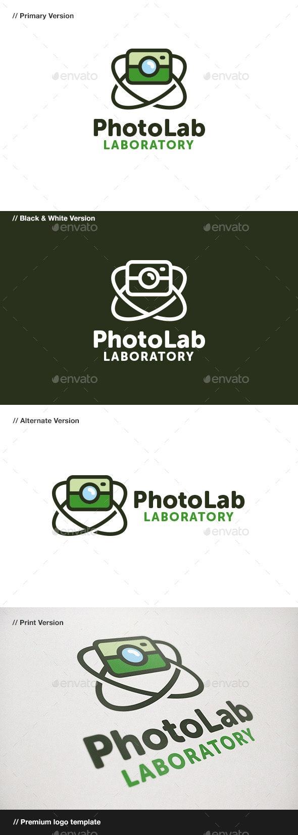 Photo Lab - Objects Logo Templates