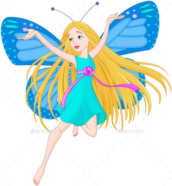 Flying Fairy  - People Characters