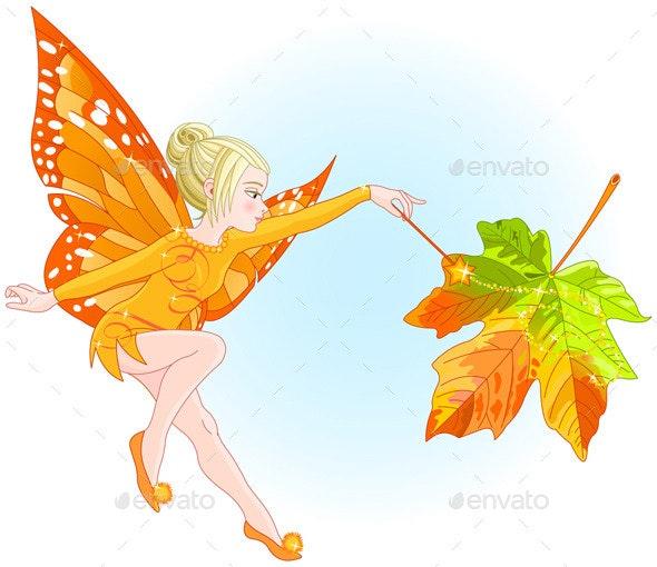 Magic Fairy  - People Characters