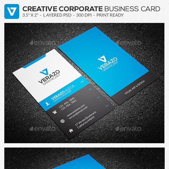 Creative Corporate Business Card 61