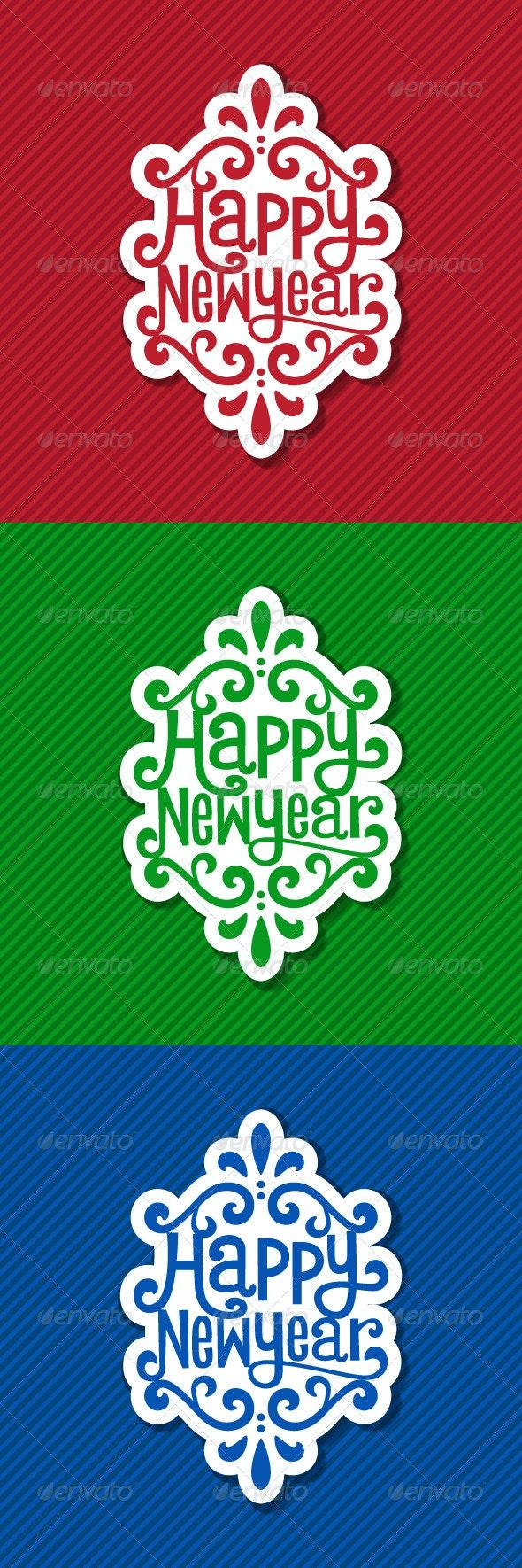 New Year Tag - New Year Seasons/Holidays