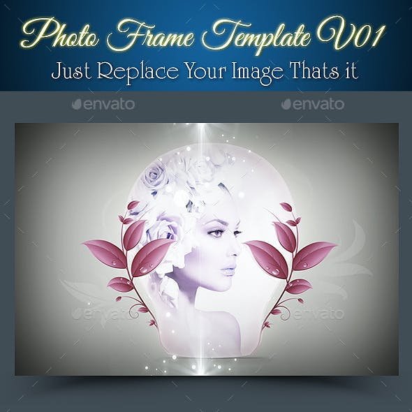 Photo Frame Template V01
