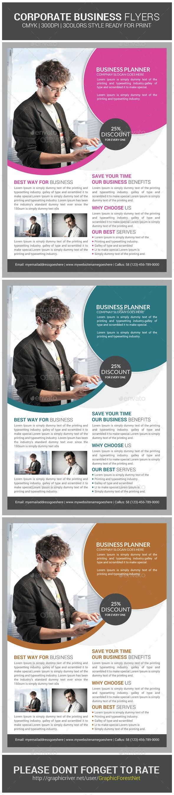 Creative Corporate Business Flyer Psd Template - Corporate Flyers