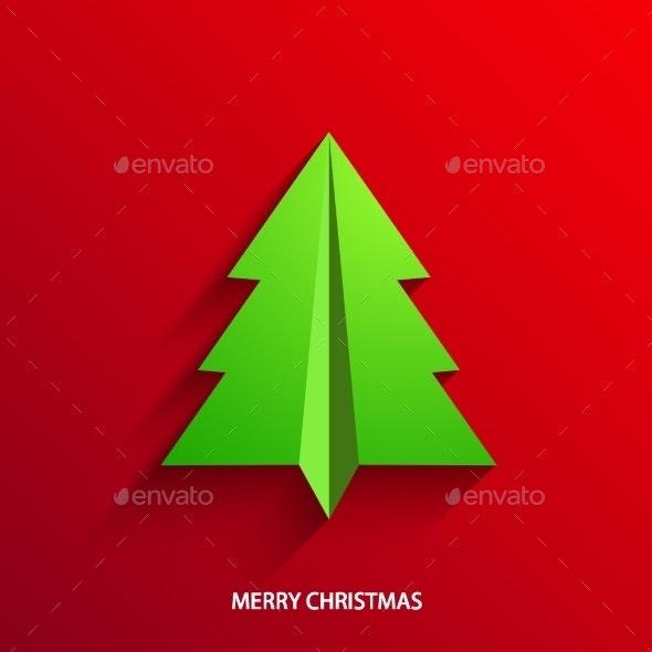 Vector Concept Christmas Tree - Christmas Seasons/Holidays