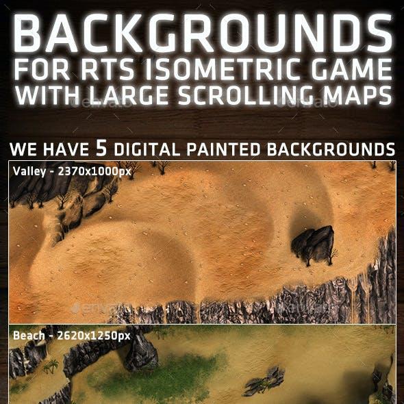 RTS Isometric Background