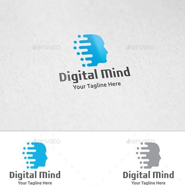 Digital Mind - Logo Template