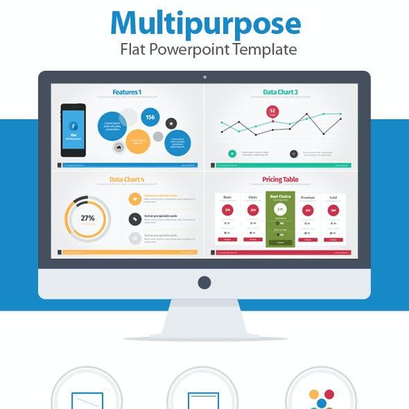 Multipurpose Flat Powerpoint Template