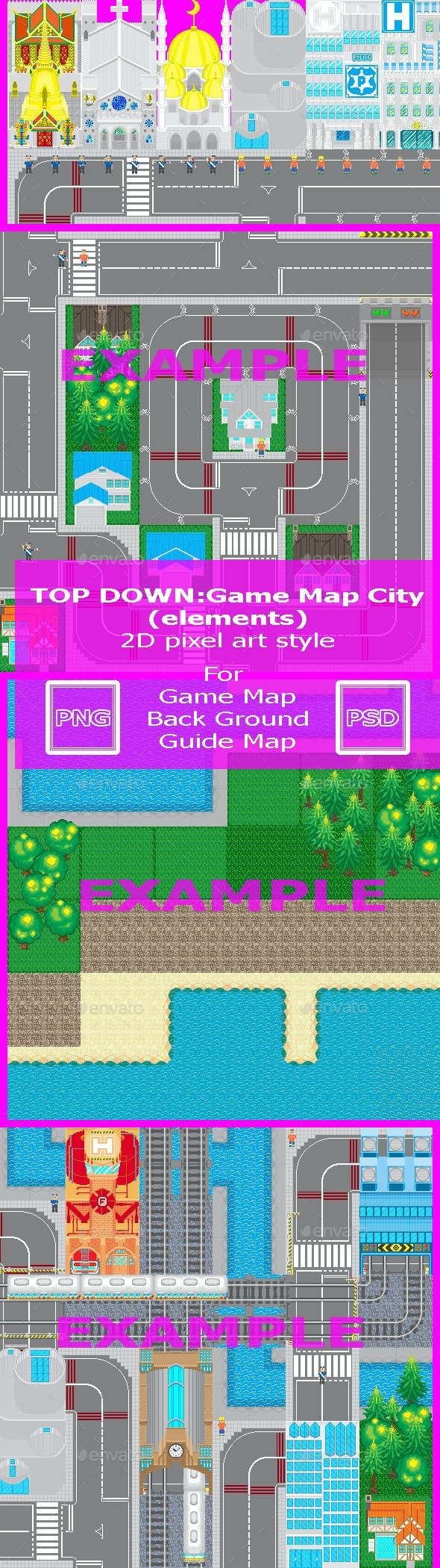 New Map - Miscellaneous Game Assets
