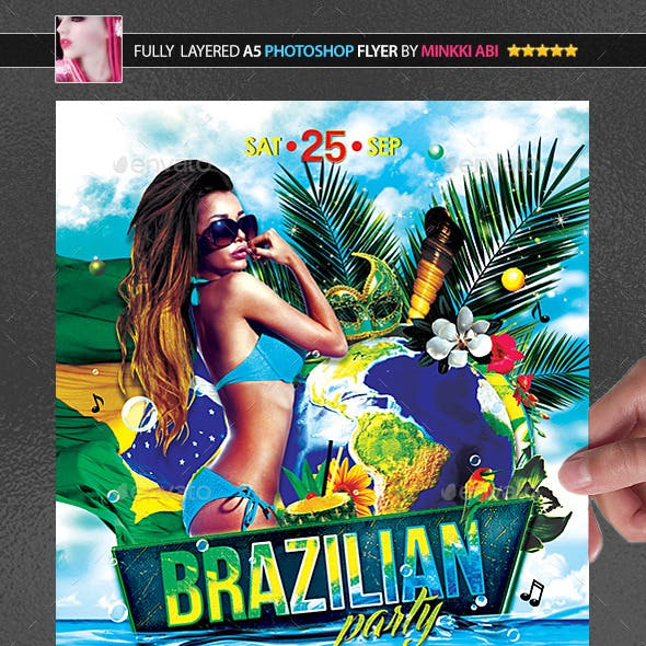 Brazilian Party Poster/Flyer